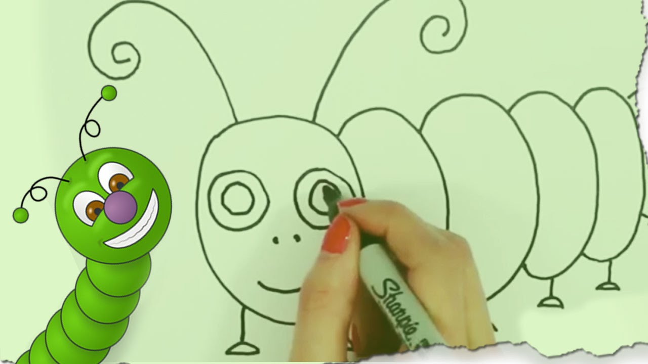 Simple Caterpillar Drawing at GetDrawings.com | Free for personal ...