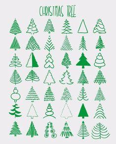 235x292 Diy Art Christmas Tree, Bullet Journals And Bullet