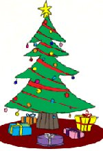 150x220 Christmas Tree Drawing Lesson