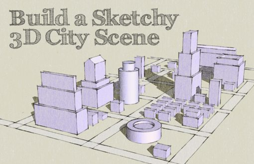 510x329 Design A Sketched 3d City Map From Scratch Design Shack