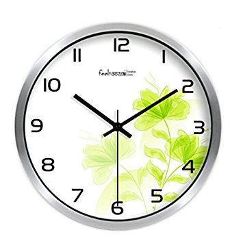 352x355 Jedfild Stylish And Simple Idyllic Art Wall Clock