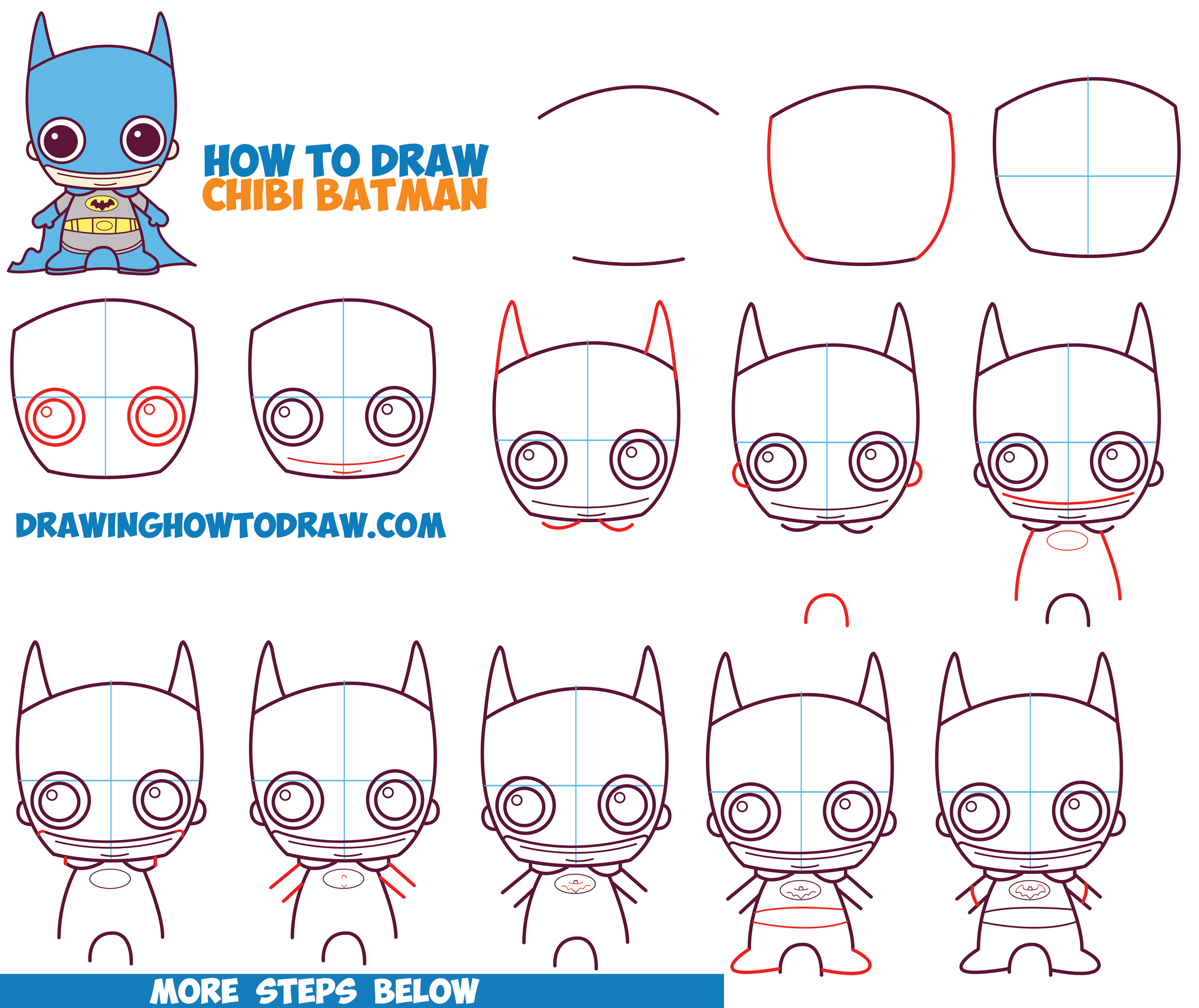 2847x2393 How To Draw Cute Chibi Batman From Dc Comics In Easy Step By Step