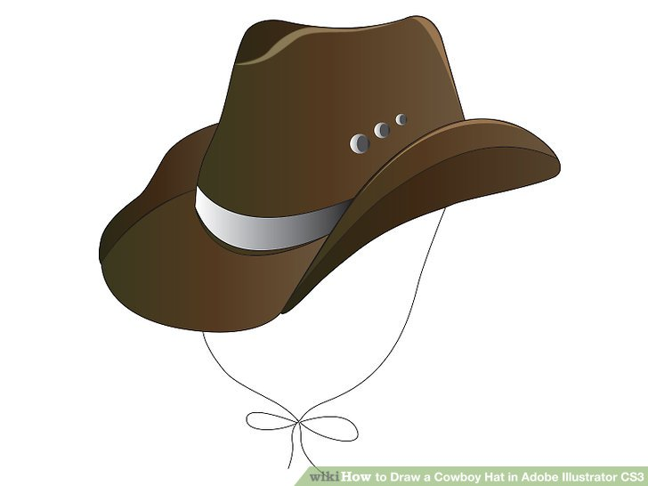 Simple Cowboy Hat Drawing At Getdrawings Com Free For Personal Use