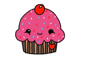 simple cupcake drawing at getdrawings com free for personal use rh getdrawings com how to draw a cartoon cupcake with eyes how do you draw a cartoon cupcake