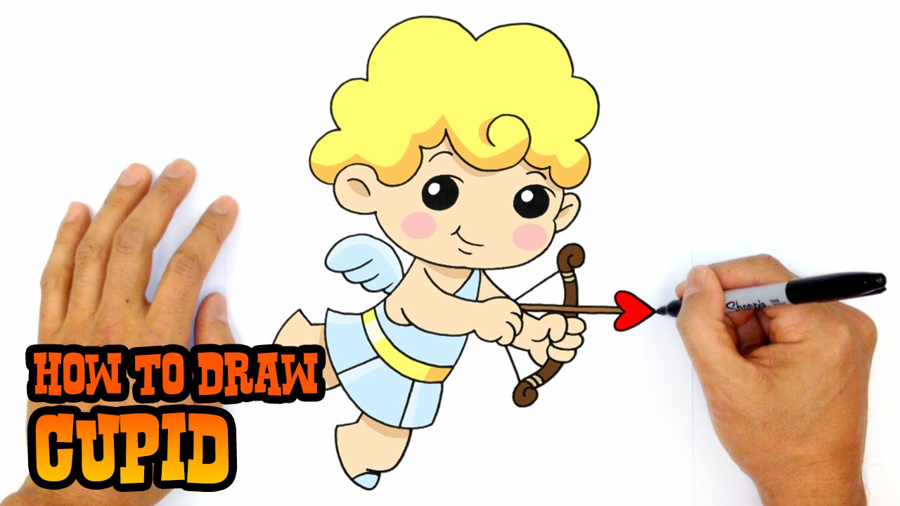 1280x720 How To Draw A Cupid Drawing Lesson