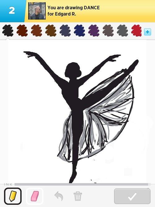 Simple Dancer Drawing At Getdrawings