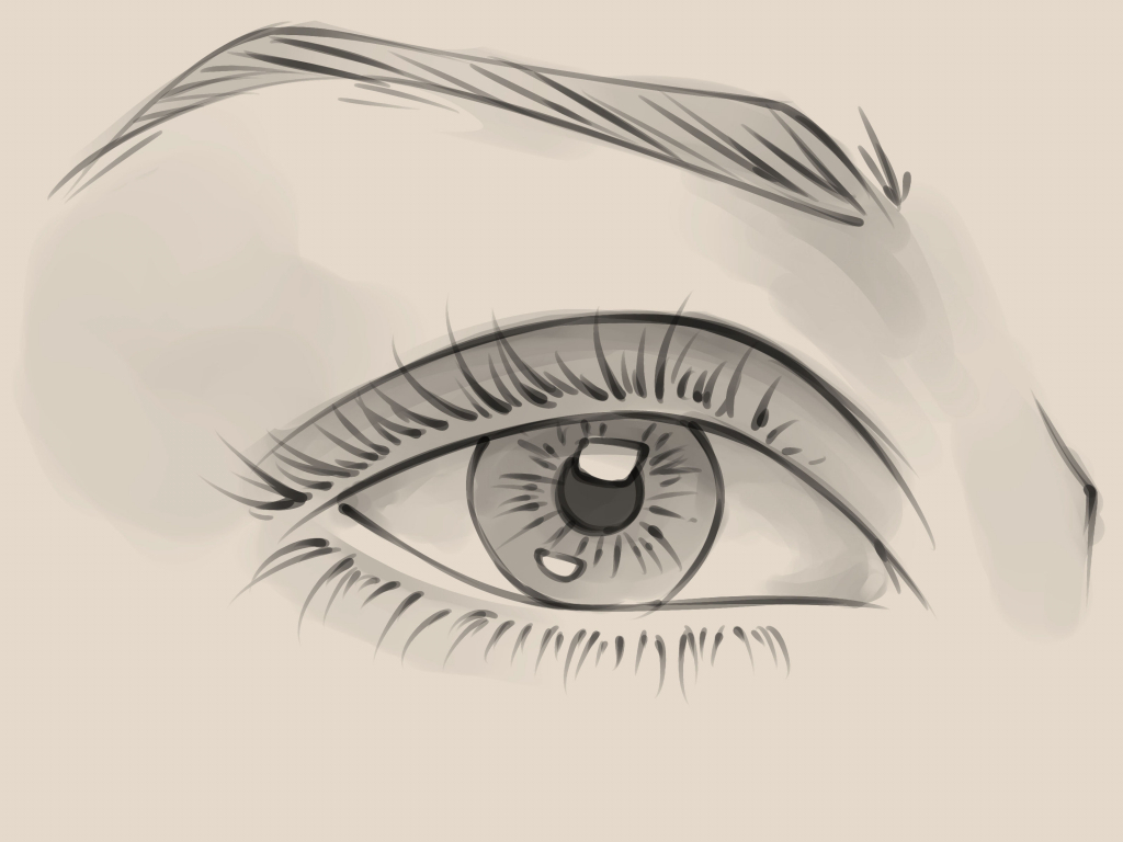1024x768 Simple Sketch Of Eye Dos Don'Ts How To Draw Realistic Eyes Easy