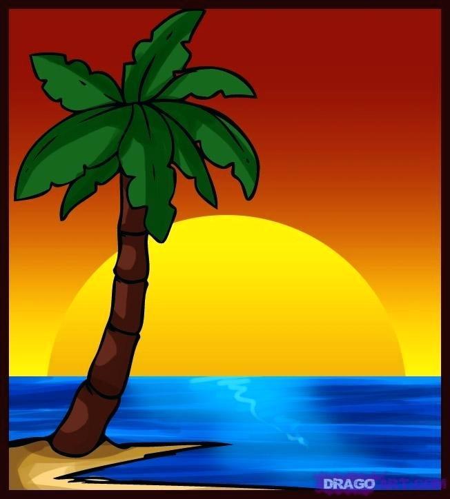 652x724 Palm Trees Drawings Vintage Drawing Banana Palm Tree Palm Trees