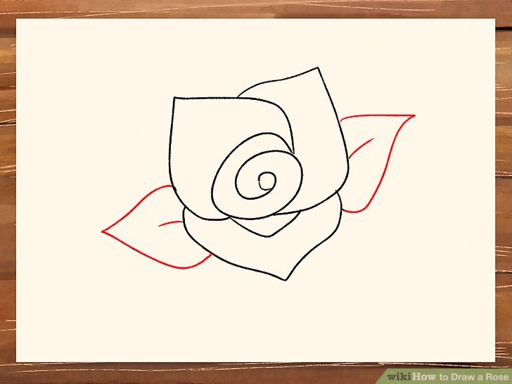 728x546 impressive easy draw roses best 25 rose drawing simple ideas on