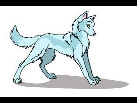 480x360 How To Draw Anime Wolves