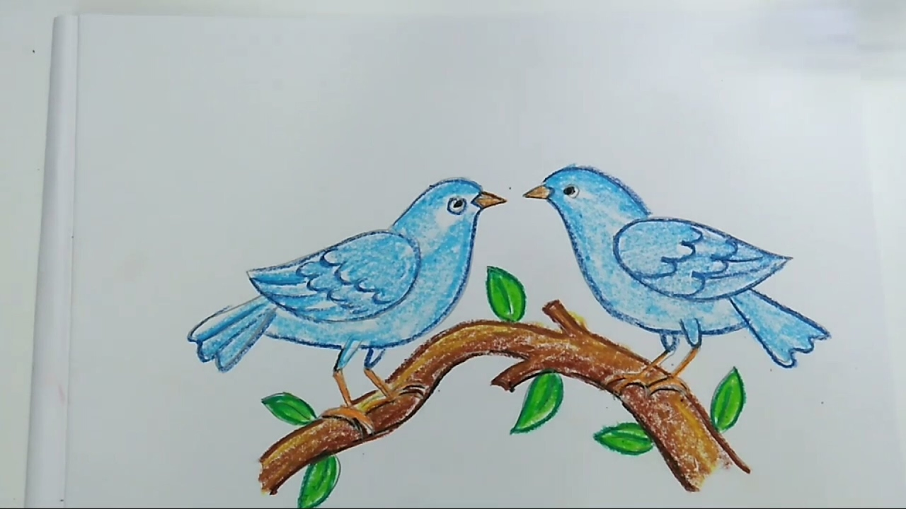 1280x720 How To Draw Birds Easy