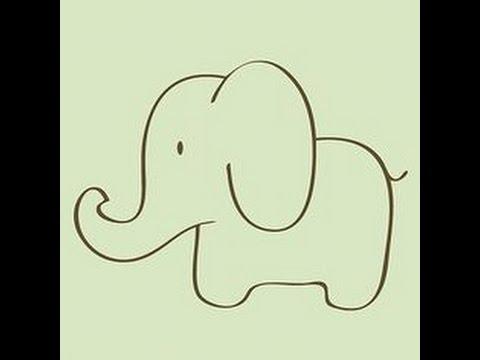 480x360 How To Draw A Basic Elephant