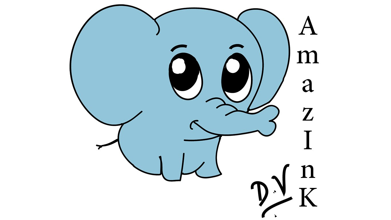 1366x768 Simple Drawing Of Elephant Learn How To Draw A Baby Elephant
