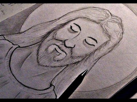 480x360 How To Draw Jesus Christ