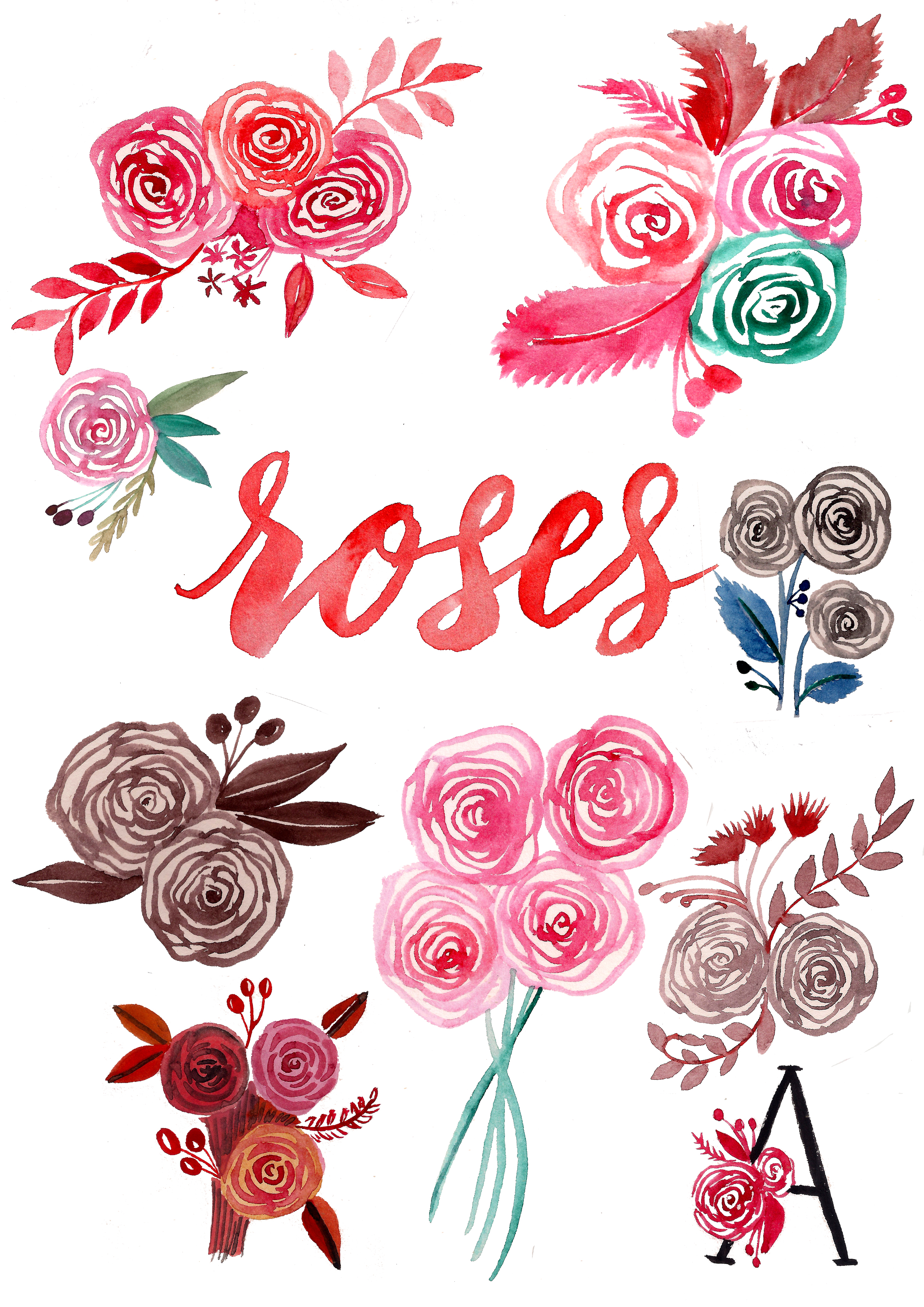 2480x3508 An Easy Way To Paint Rose Blooms (With Video) Surely Simple
