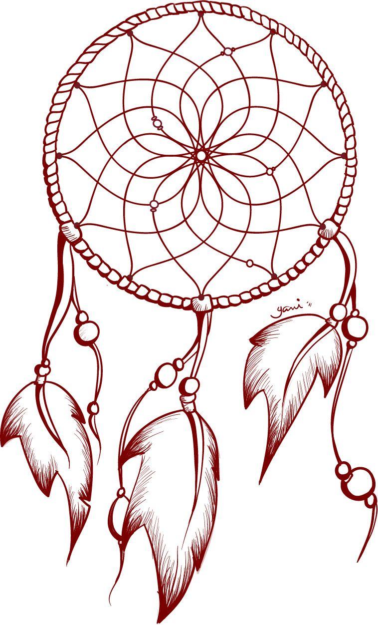 758x1252 Tattoo Design Dreamcatcher Tattoos Tattoo