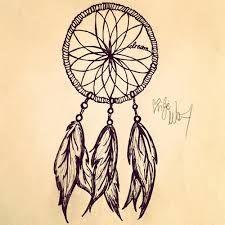 225x225 Simple Dream Catcher Tattoo
