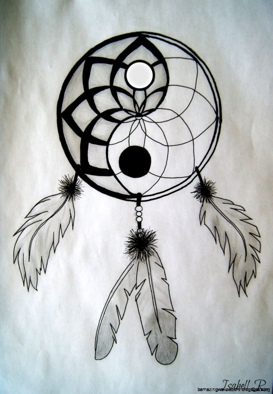 931x1342 Dreamcatcher Tattoos Dreamcatchers Drawings Of Coloring By Lacie