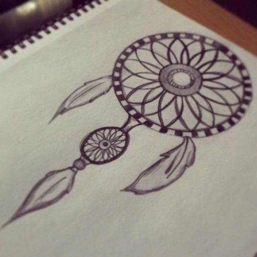 530x530 Gallery Dream Catcher Drawing Pencil Easy,