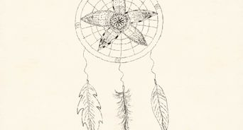 342x184 How To Draw A Dreamcatcher 13 Steps (With Pictures)