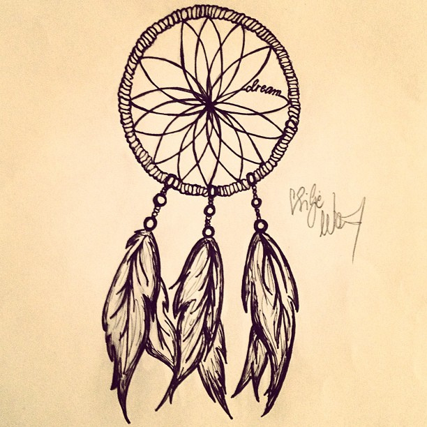 612x612 Pictures Simple Dreamcatcher Drawings,