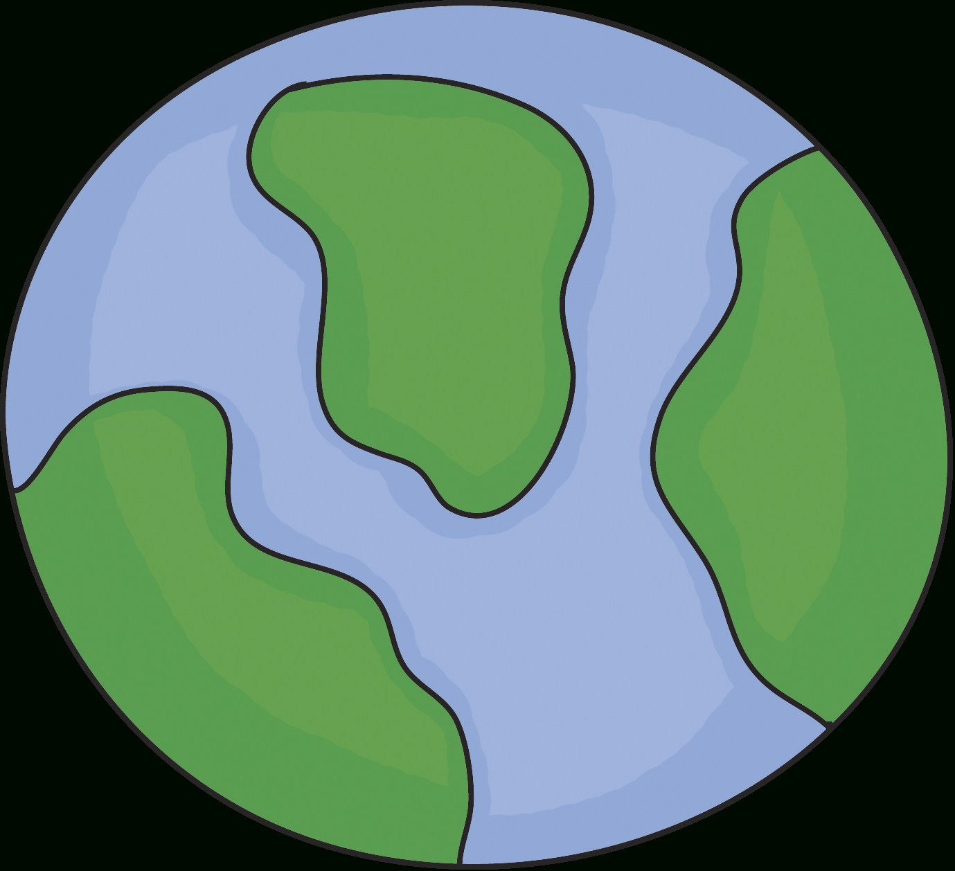 1379x1258 Simple Drawing Of Earth Ideas Collection How To Draw Earth