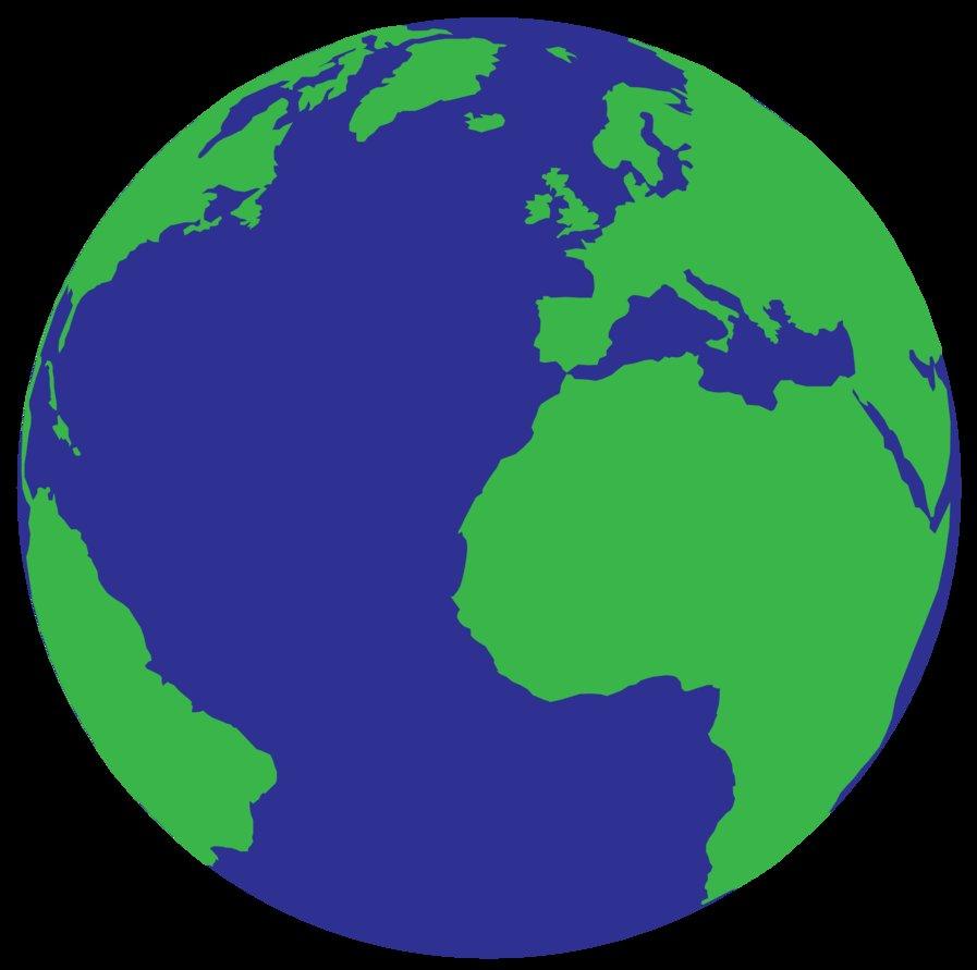 897x891 Simple Drawing Of Earth Simple Vector Earth By Deebeeart