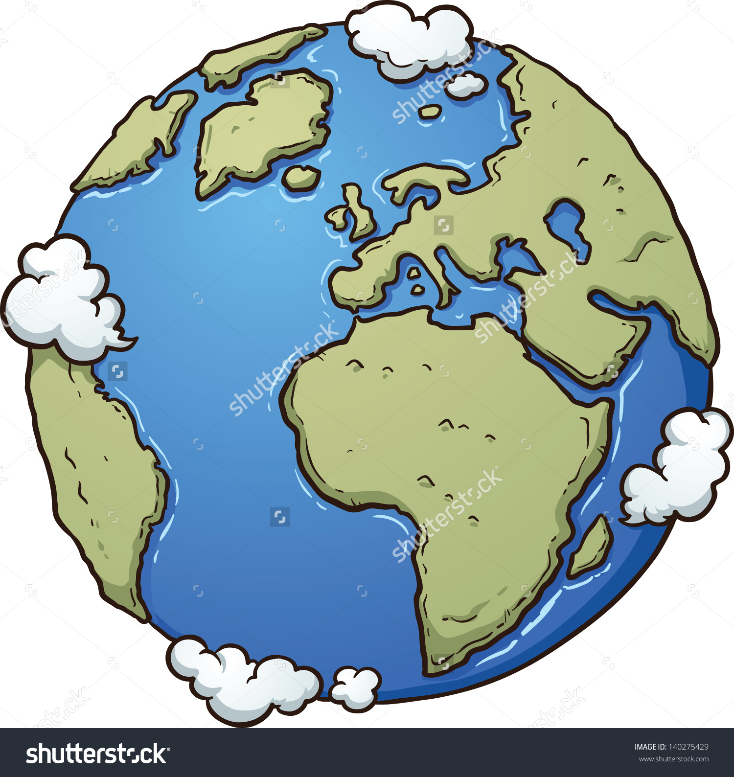1500x1588 Simple Drawing Of Earth Stock Photos, Royalty Free Images Vectors