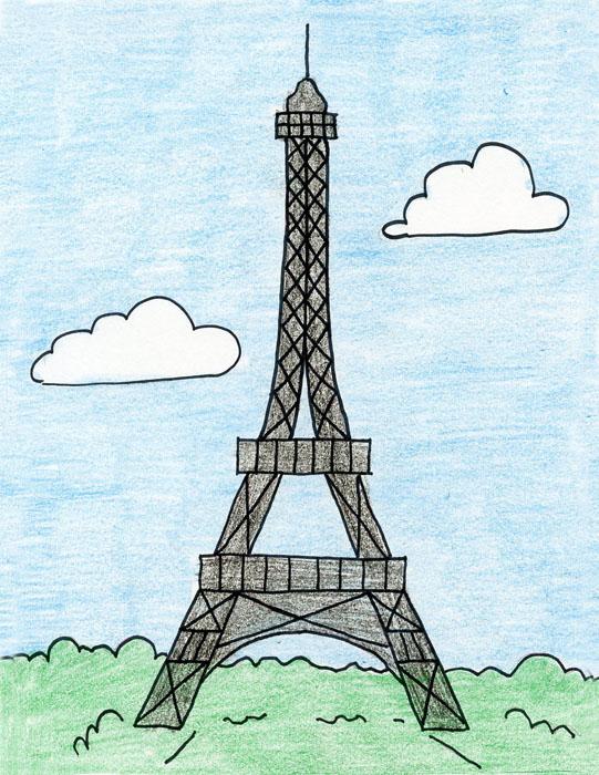 541x700 Eiffel Tower