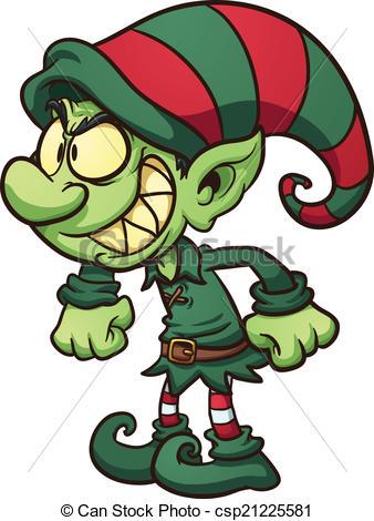 338x470 Drawings Of Christmas Elves Evil Christmas Elf. Vector Clip Art