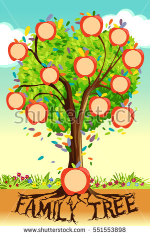 Simple Family Tree Drawing at GetDrawings.com | Free for personal ...