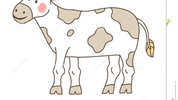 570x320 Simple Drawing Of Cow Cow