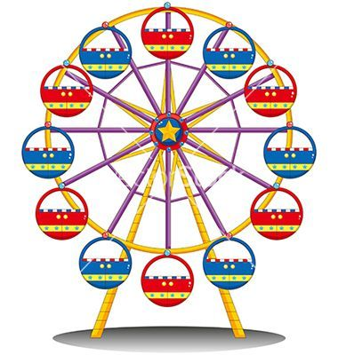 380x400 Deluxe Ferris Wheel Cartoon 1000 Images About Aa Doodles And Learn