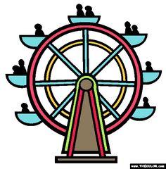 236x240 How To Draw A Ferris Wheel Cardstocked Ferris