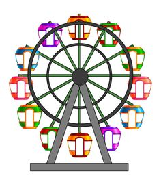 236x279 How To Draw A Ferris Wheel I Like Simple Things.