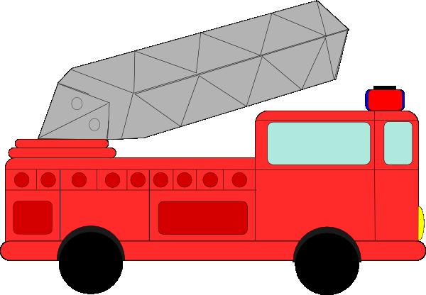 600x416 Fire Engine Clip Art