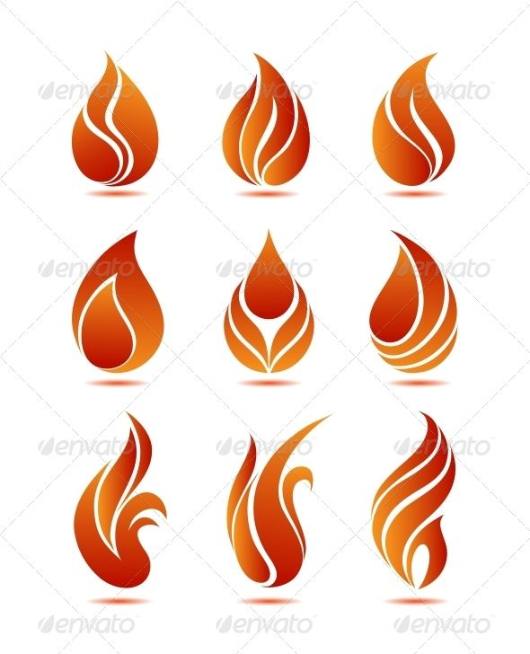 590x728 Flame Black Card, Logos And Drawings