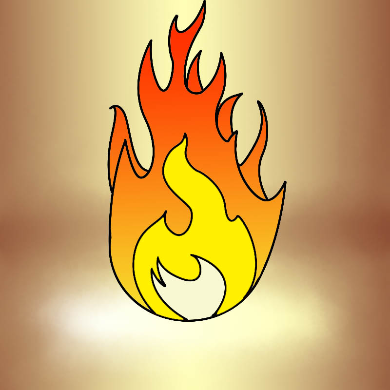 800x800 How To Draw Fire
