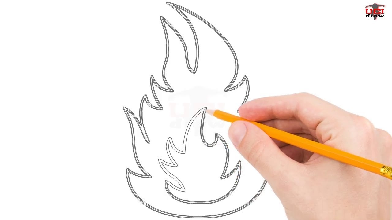 1280x720 How To Draw Flames Step By Step Easy For Beginnerskids Simple