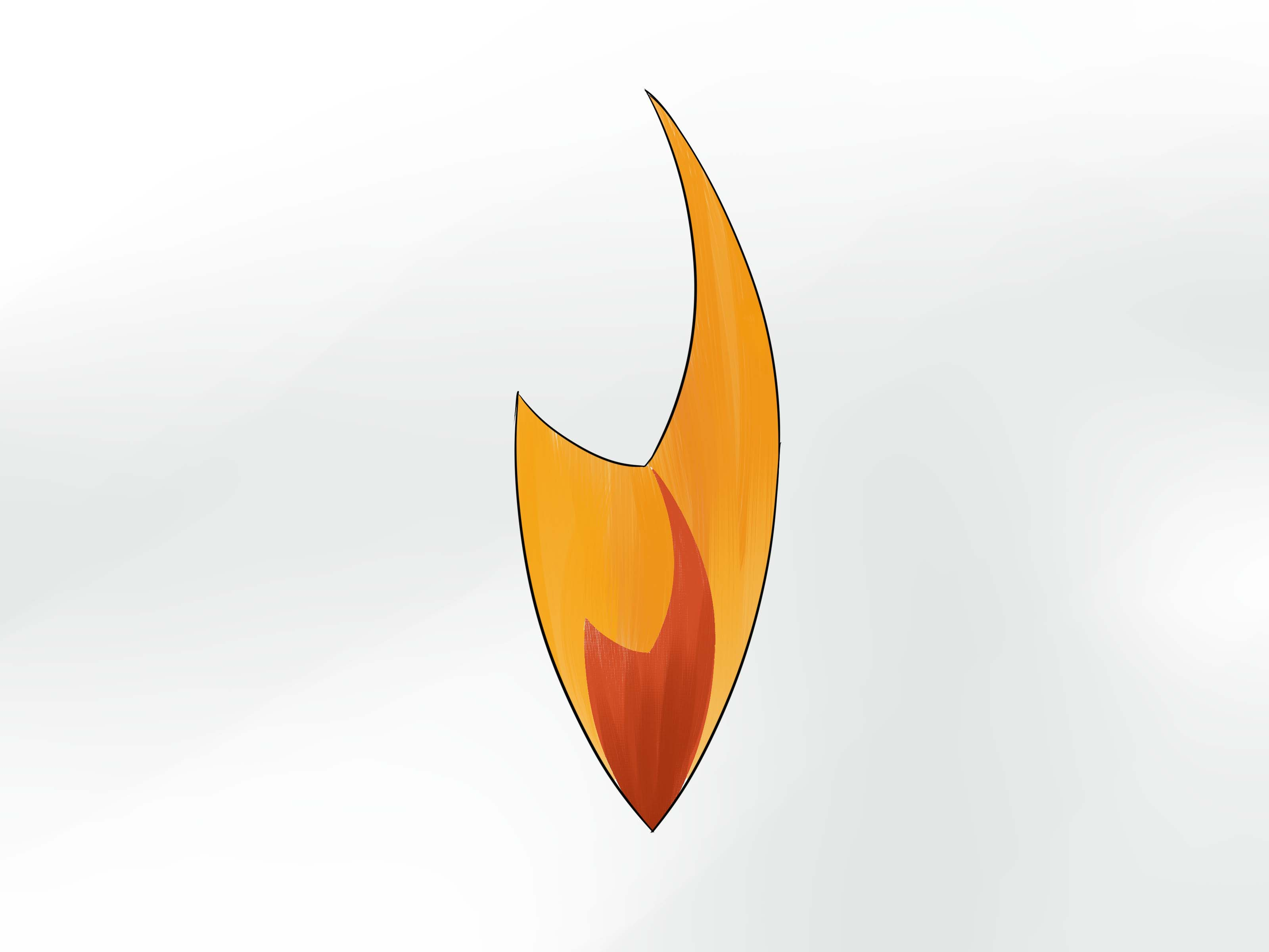 3200x2400 How To Draw A Fire Symbol 10 Steps (With Pictures)