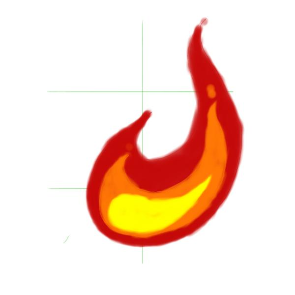 600x600 How To Draw Flames
