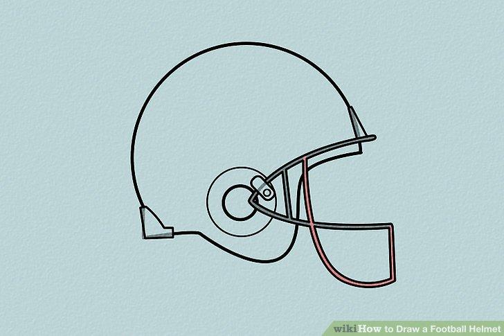 728x485 4 Ways To Draw A Football Helmet