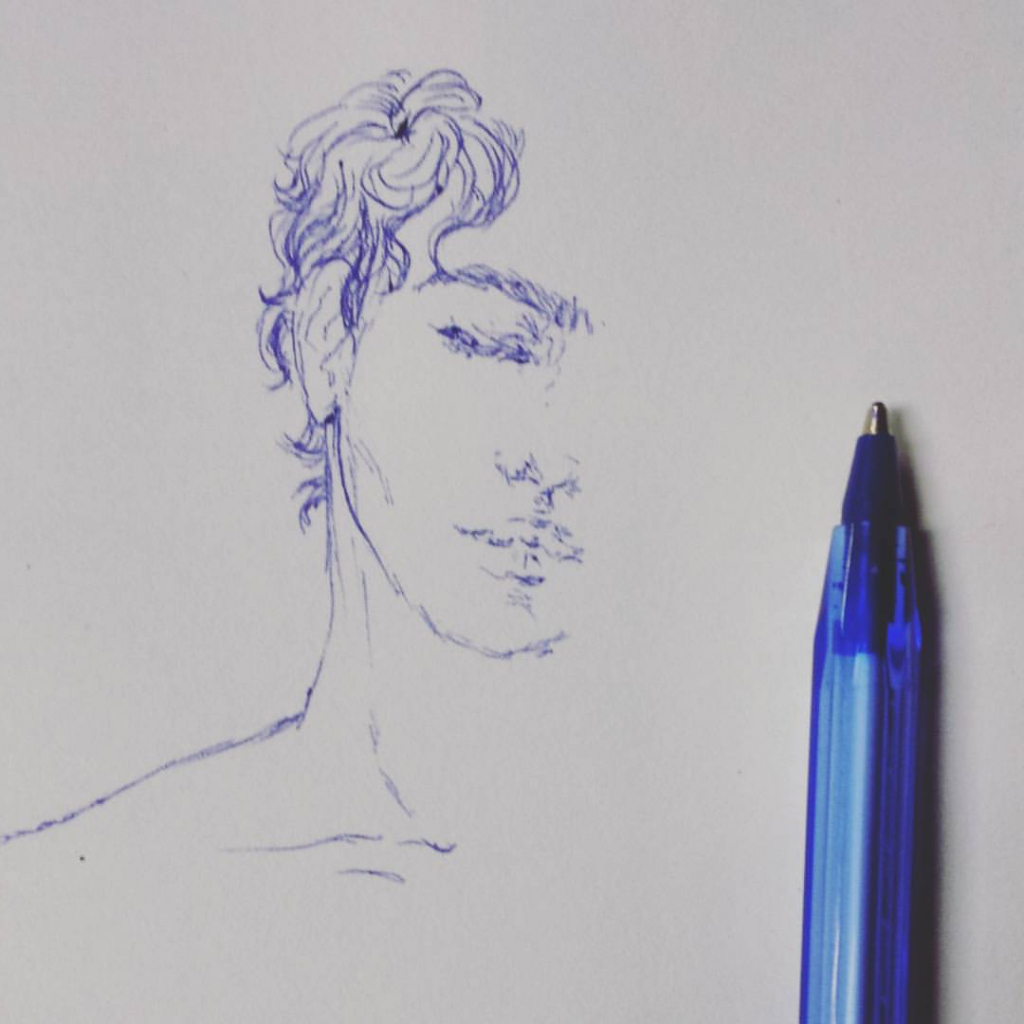1024x1024 Simple Pen Drawings It Begins With A Simple Fountain Pen What I