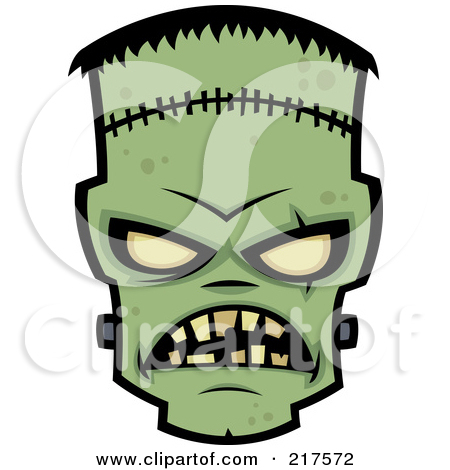 450x470 217572 Royalty Free Rf Clipart Illustration Of An Evil