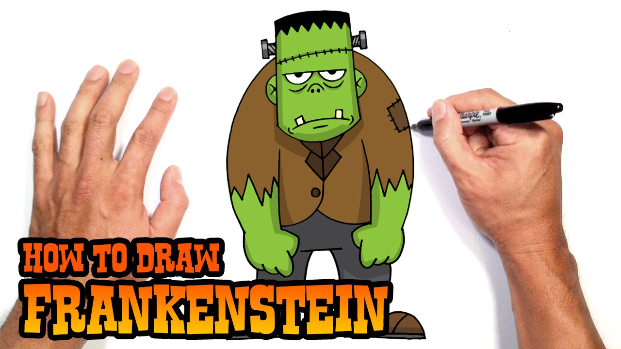 1280x720 How To Draw Frankenstein Drawing Lesson