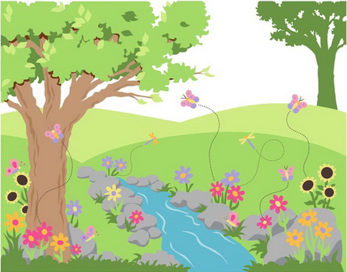 Simple Garden Drawing at GetDrawings.com | Free for personal use ...