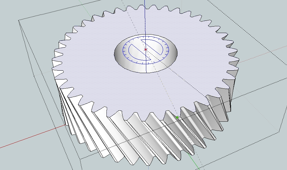 938x556 Drawing Gears In Sketchup. Capolight Electronics Projects.