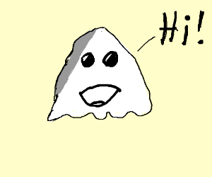 300x250 Simple Ghost (Drawing By Theoasisfox)