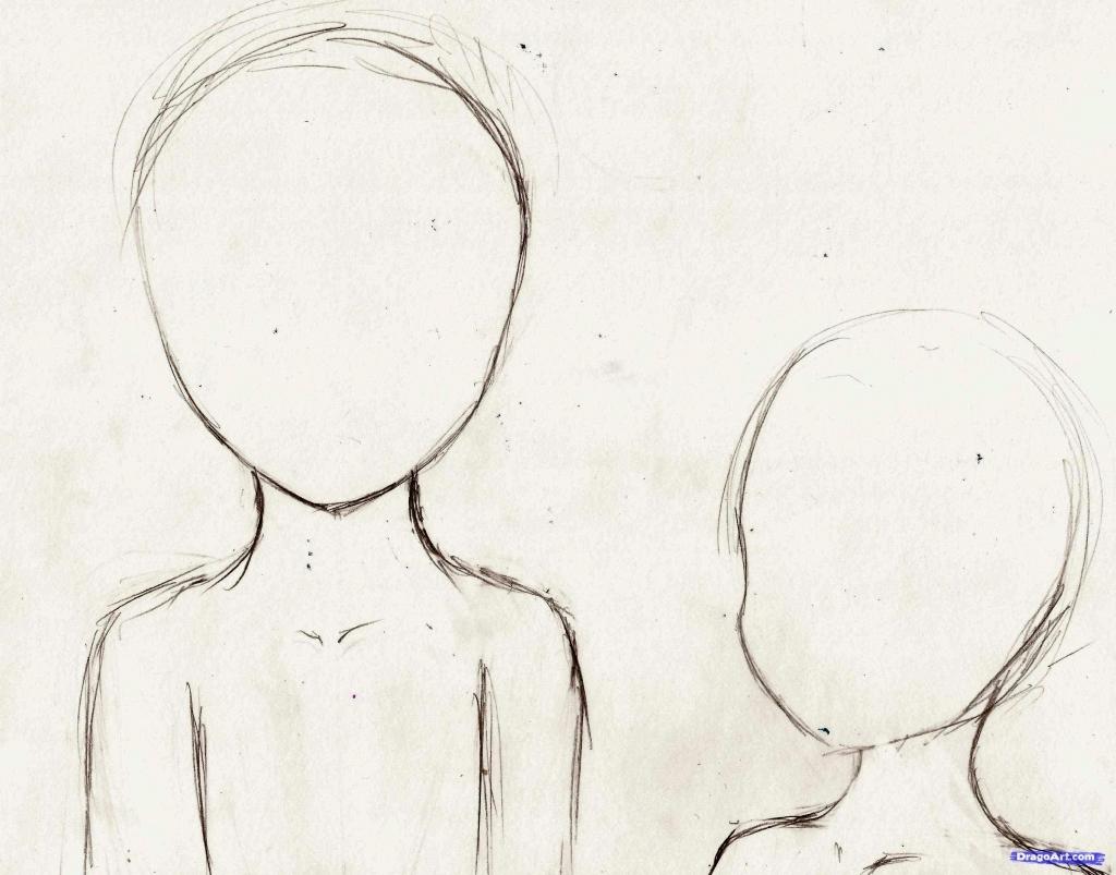 1024x803 Simple Anime Drawings Step By Step Simple Anime Drawings Easy Girl