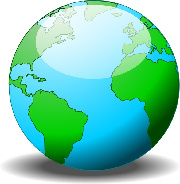 586x600 A Simple Globe Free Vector In Open Office Drawing Svg ( Svg